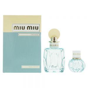 Miu Miu - L'Eau Bleue EDP 100ml + EDP 20ml