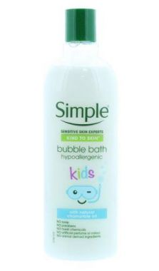Simple - Kind To Skin - Kids Bubble Bath Hypoallergenic 400ml