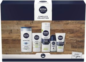 Nivea - Men Sensitive Skin Complete Collection 5 Pieces Gift Set
