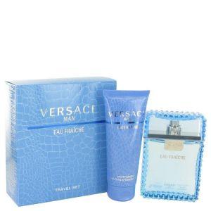 Versace - Man Eau Fraiche M EDT 100ml Spray + Shower Gel 100ml