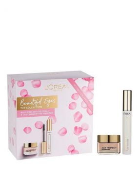 L'Oreal - Beautiful Eyes The Collection - Golden Age 2 Pieces Gift Set For Her