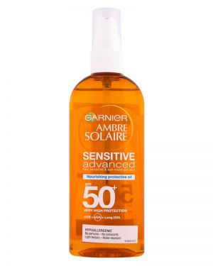 Garnier - Ambre Solaire Sensitive Nourishing Oil SPF50 150ml
