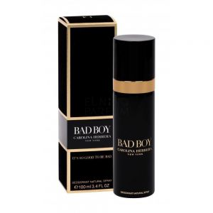 Carolina Herrera - Bad Boy Deodorant Spray For Men 100ml