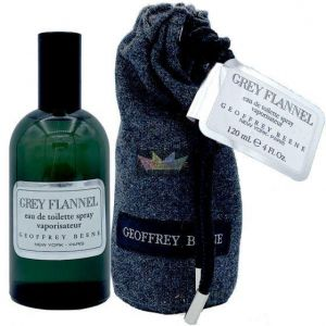Geoffrey Beene - Grey Flannel 120ml EDT Spray For Men (Pouch)
