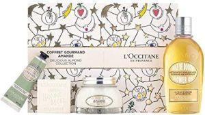 L'Occitane - Amande Set Soap 100g + Hand Cream 30ml + Milk 100ml + Shower Gel 250ml