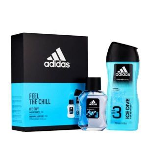 Adidas - Ice Dive EDT 50ml + Shower Gel 250ml