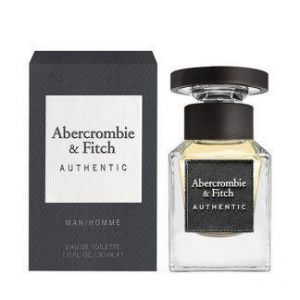 Abercrombie & Fitch - Authentic Man EDT 30ml Spray For Men