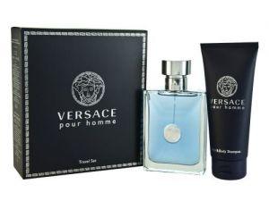 Versace - Pour Homme Travel Set EDT 100ml + 100ml Hair & Body Shampoo