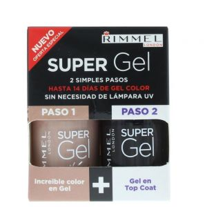 Rimmel - Super Gel Color & Top Coat 2 x 12ml - 012 Soul Session
