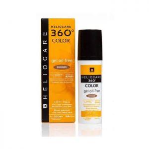 Heliocare - 360° Gel Color Oil-Free Bronze SPF50 50ml