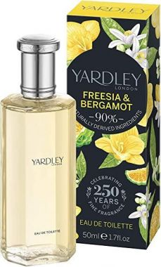 Yardley - English Freesia & Bergamont EDT 50ml Spray For Women