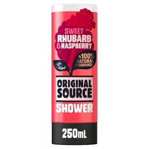Original Source - Rhubarb & Raspberry Shower Gel 250ml