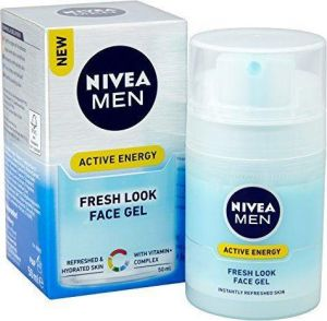 Nivea - Men Active Energy Fresh Look Face Gel 50ml