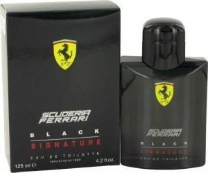 Ferrari - Black Signature Scuderia EDT 125ml Spray For Men
