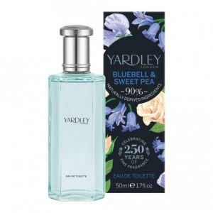 Yardley - English Bluebell & Sweet Pea EDT 50ml Spray For Women