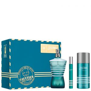 Jean Paul Gaultier - Le Male EDT 75ml + Deodorant Spray 150ml + EDT 10ml