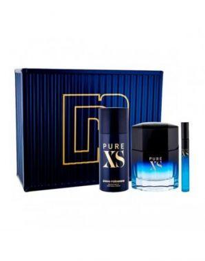 Paco Rabanne - Pure XS Gift Set EDT 100ml + Deodorant Spray 150ml + EDT 10ml