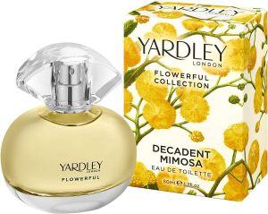 Yardley - Decadent Mimosa EDT 50ml Spray For Women